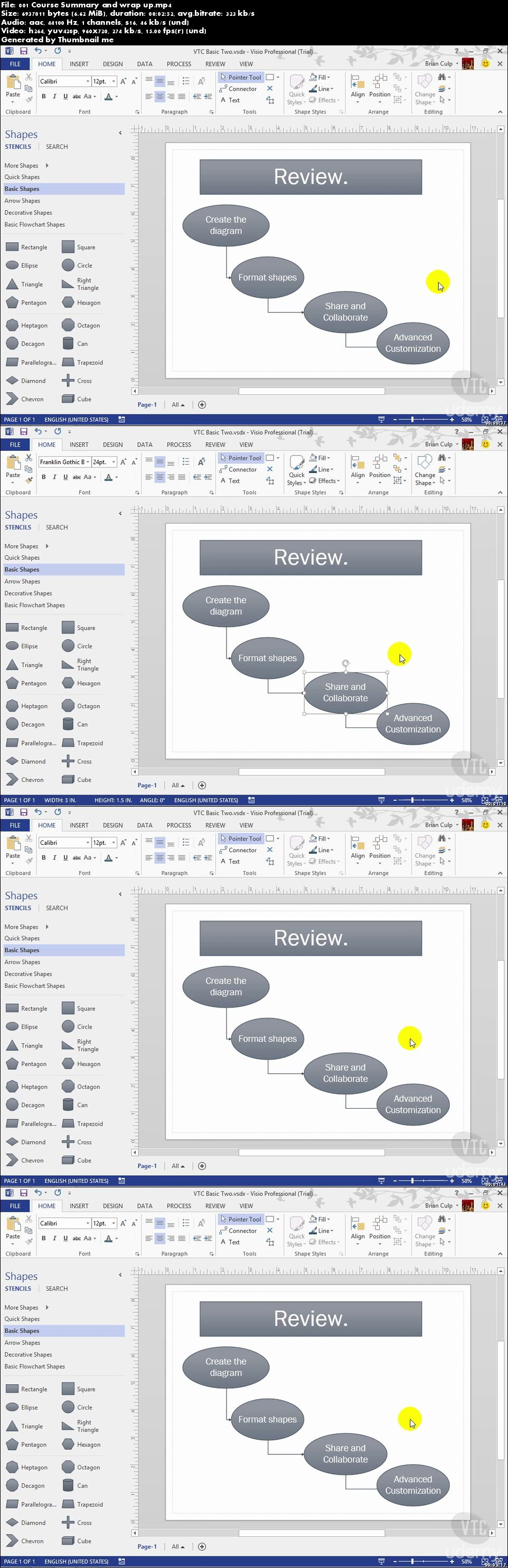 Microsoft Visio 2013 - Like a Boss. A Comprehensive Course.