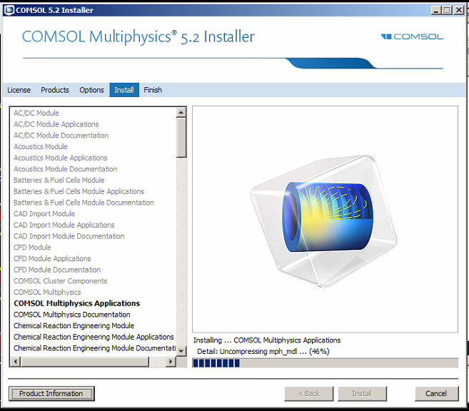 Comsol Multiphysics 5.2