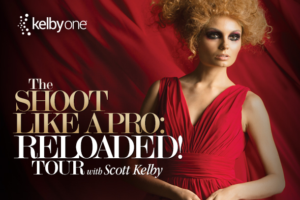 Kelbyone - The Shoot Like A Pro: Reloaded Tour with Scott Kelby