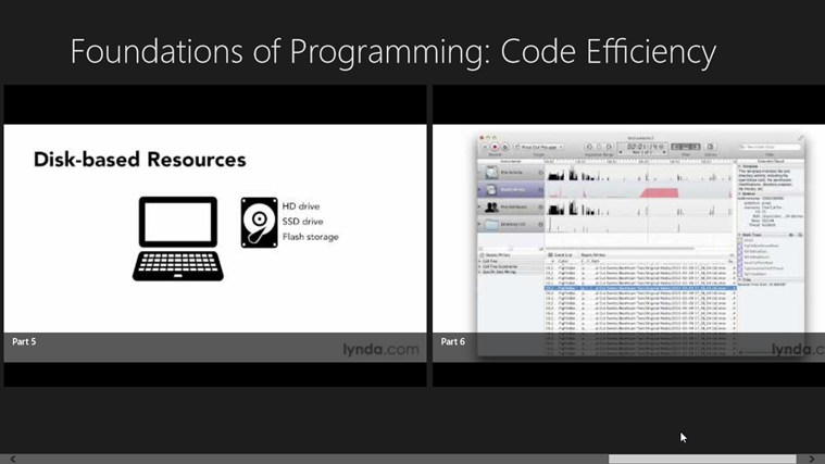 Lynda - Foundations of Programming: Code Efficiency