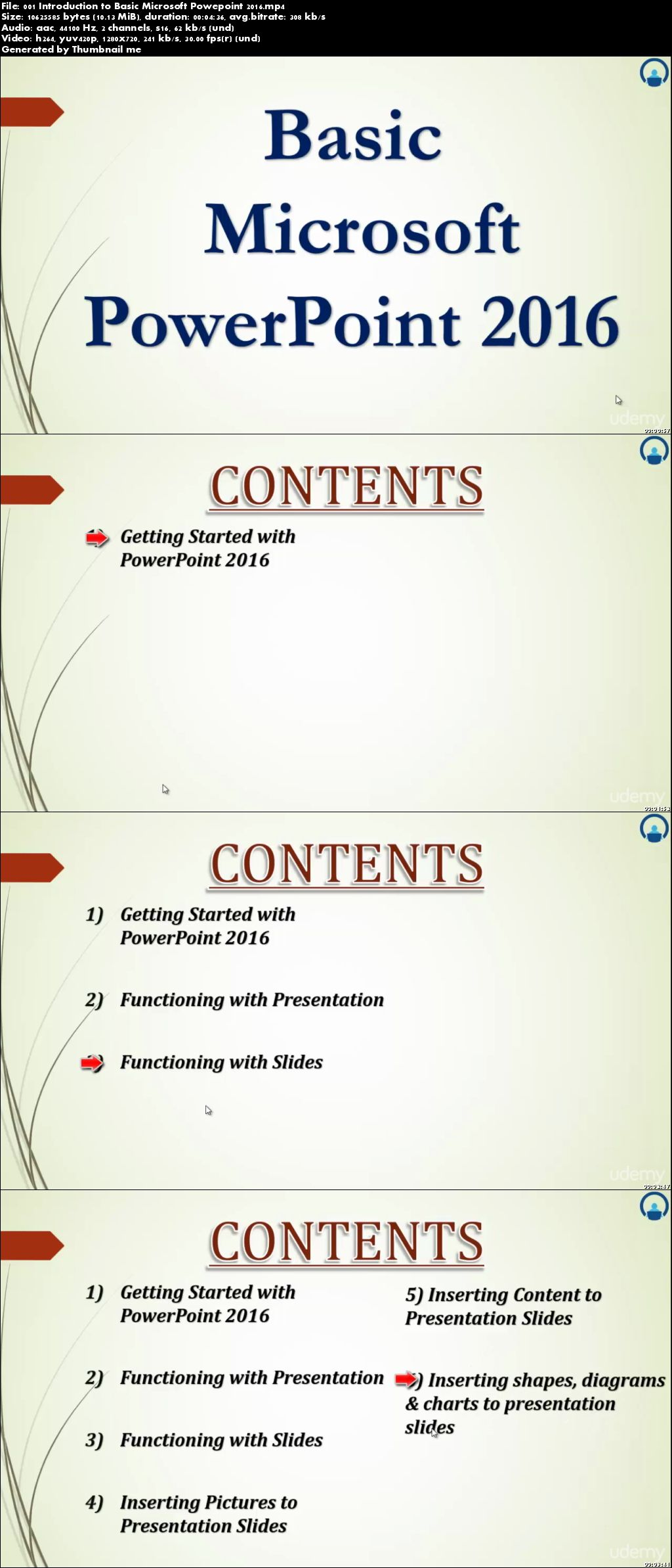 Microsoft Office PowerPoint 2016 Basic and Advanced