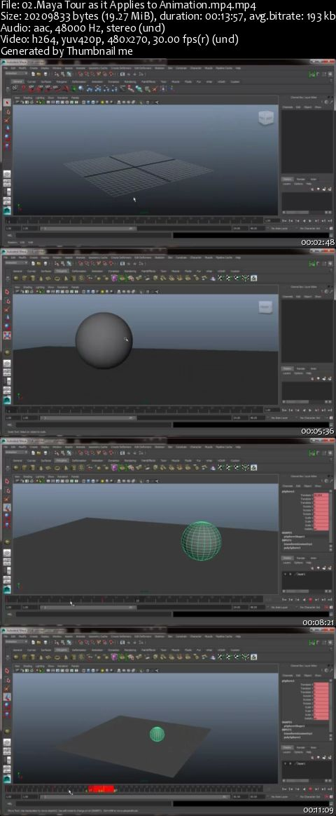 Character Animation with Maya