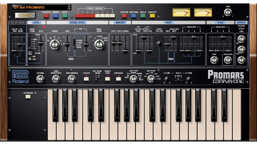 Roland Plug-Out PROMARS v1.0.1 MacOSX