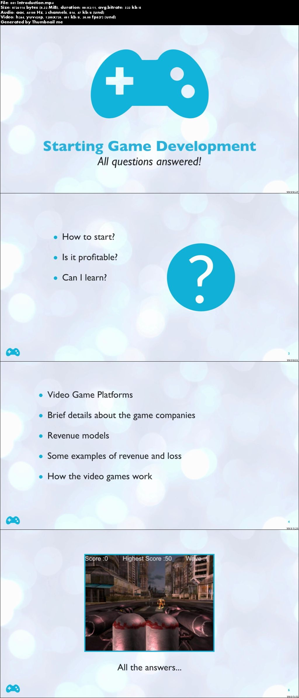 Starting game development : All questions answered + Unity3d