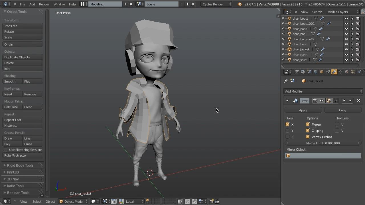CG Cookie - Introduction to Character Modeling