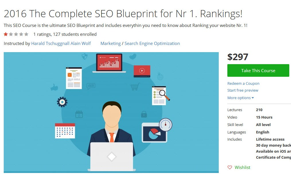 2016 The Complete SEO Blueprint for Nr 1. Rankings!