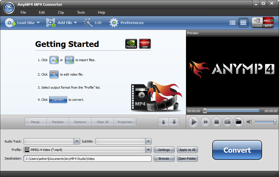 AnyMP4 MP4 Converter 6.2.30 Multilingual