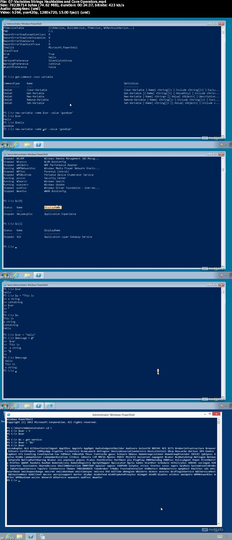 Windows PowerShell v2-v3-v4 Ultimate Training