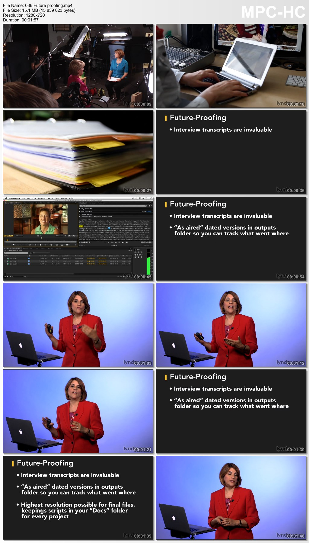 Lynda - Script Writing for Nonfiction Video