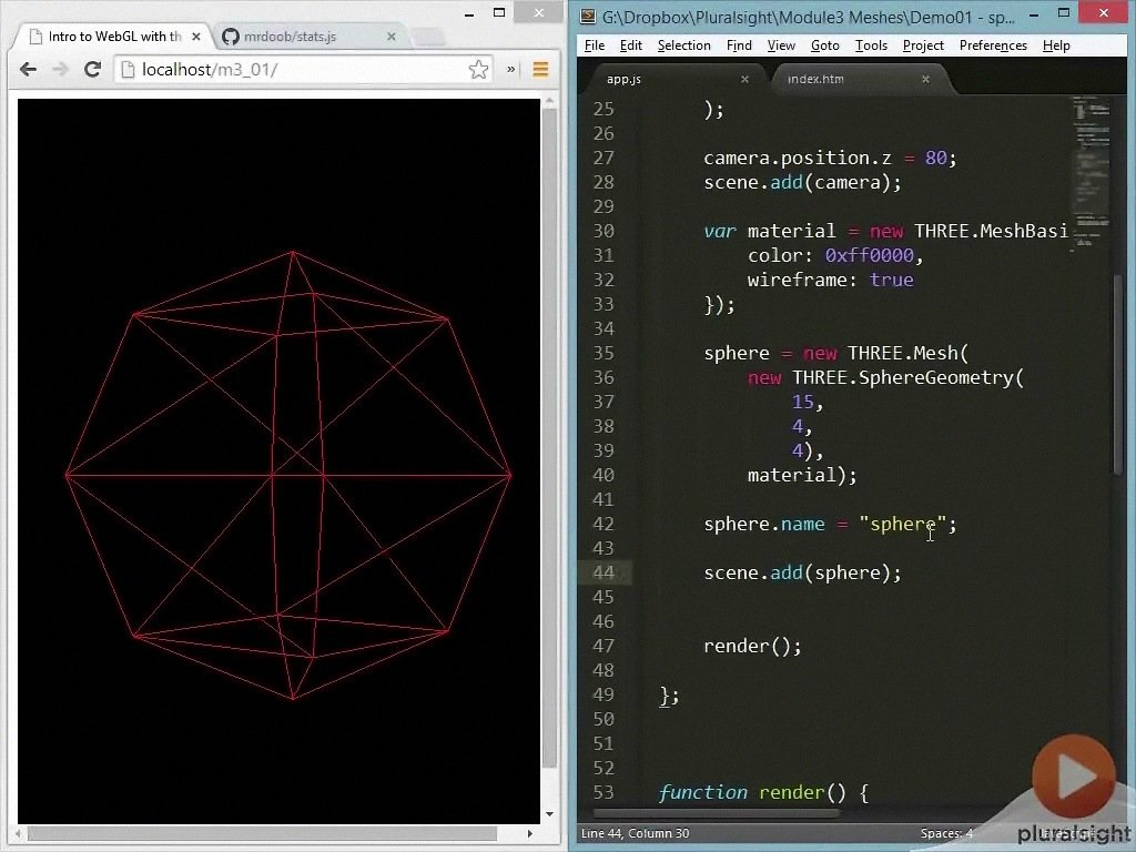 WebGL and Three.js Fundamentals