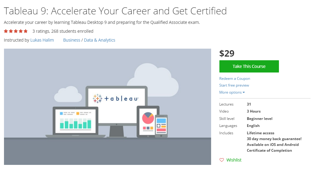 Tableau 9: Accelerate Your Career and Get Certified