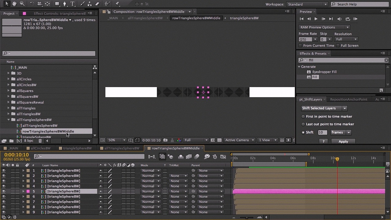 Dixxl Tuxxs - Animating a Geometric Design in After Effects + Project Files [Repost]
