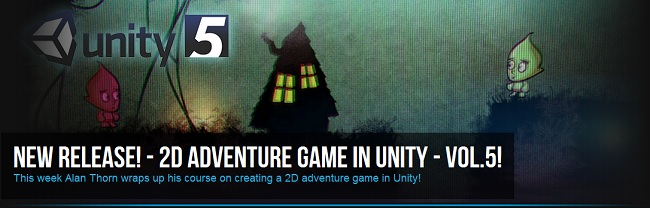 2D Adventure Game In Unity Volume 5