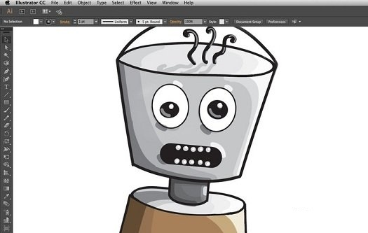 Creating Characters in Adobe Illustrator