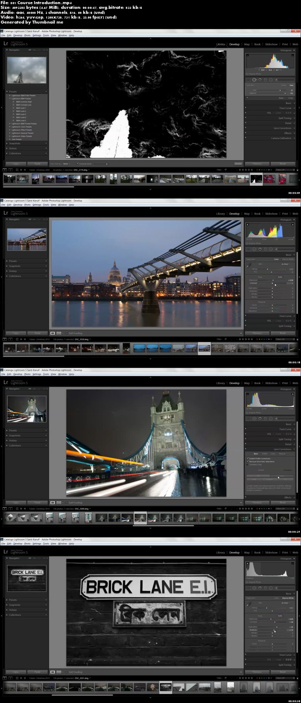 Adobe Lightroom 5. The Library and Develop Modules.