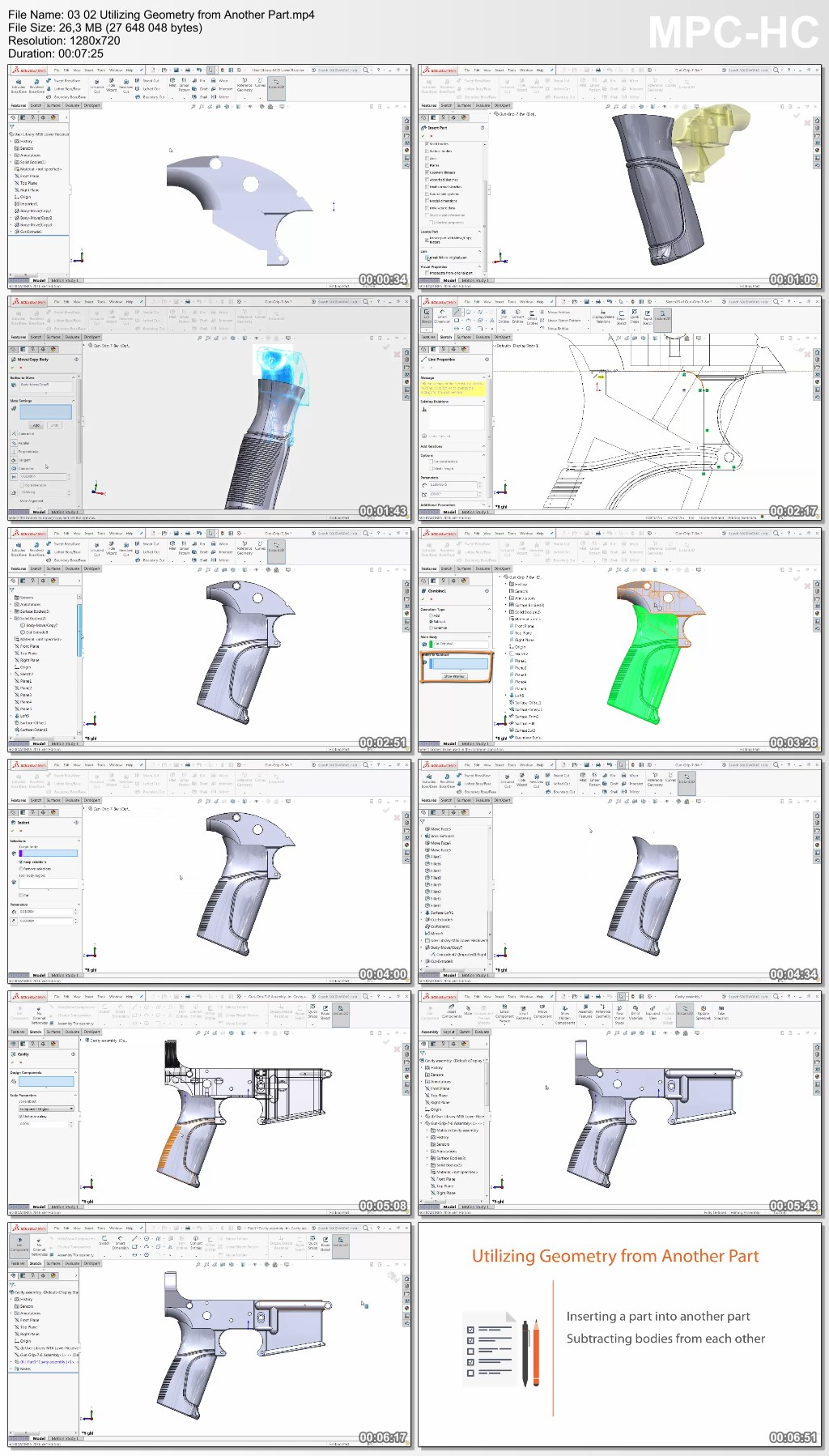 Advanced SOLIDWORKS: Solid and Surface Hybrid Modeling