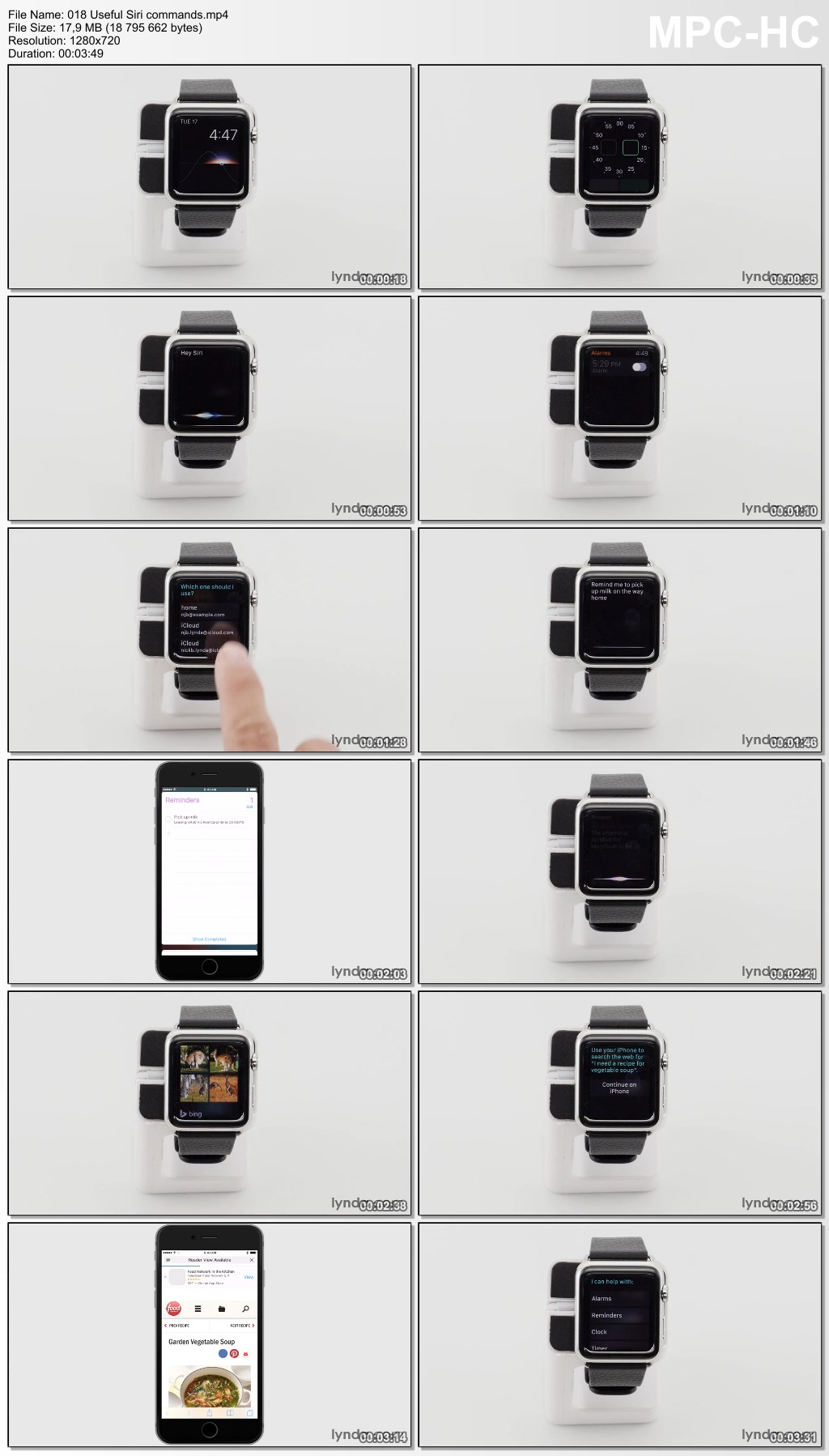 Lynda - Apple Watch Tips and Tricks