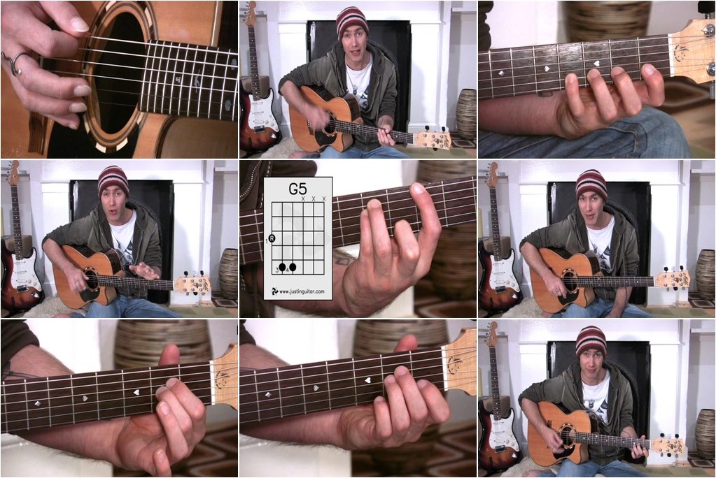 Justin Sandercoe - Beginner's Course (Beginners Guitar Method)