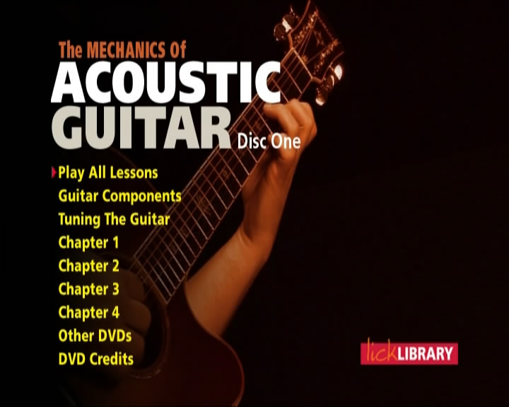 The Mechanics Of Acoustic Guitar [repost]