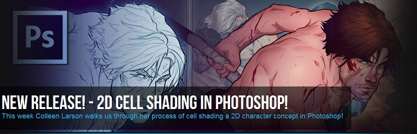 2D Cell Shading in Photoshop