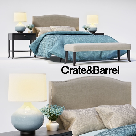 Set Colette Crate & Barreldlya bedrooms