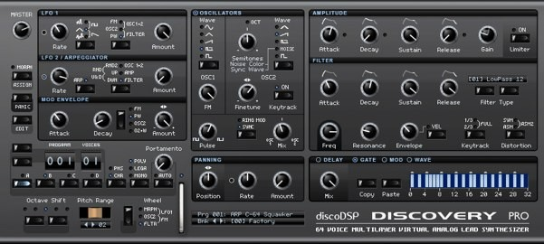 DiscoDSP Discovery Pro 6.4.6 WIN/MacOSX/Linux