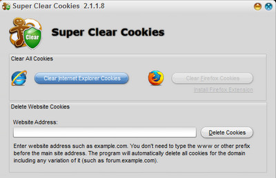 Super Clear Cookies 2.1.1.8