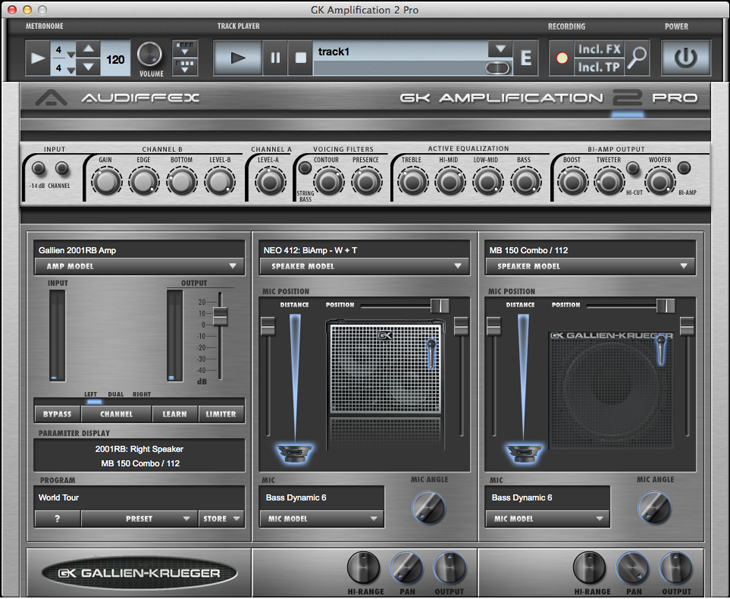 Audiffex GK Amplification 2 Pro v2.0.2 (Win / Mac OS X)