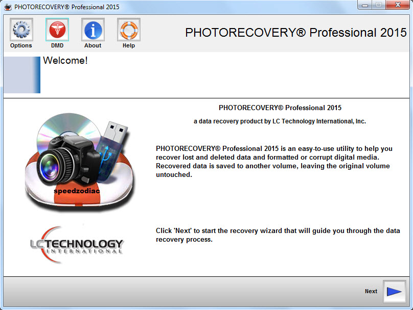 LC Technology PHOTORECOVERY 2015 Professional 5.1.1.7 Multilingual Portable