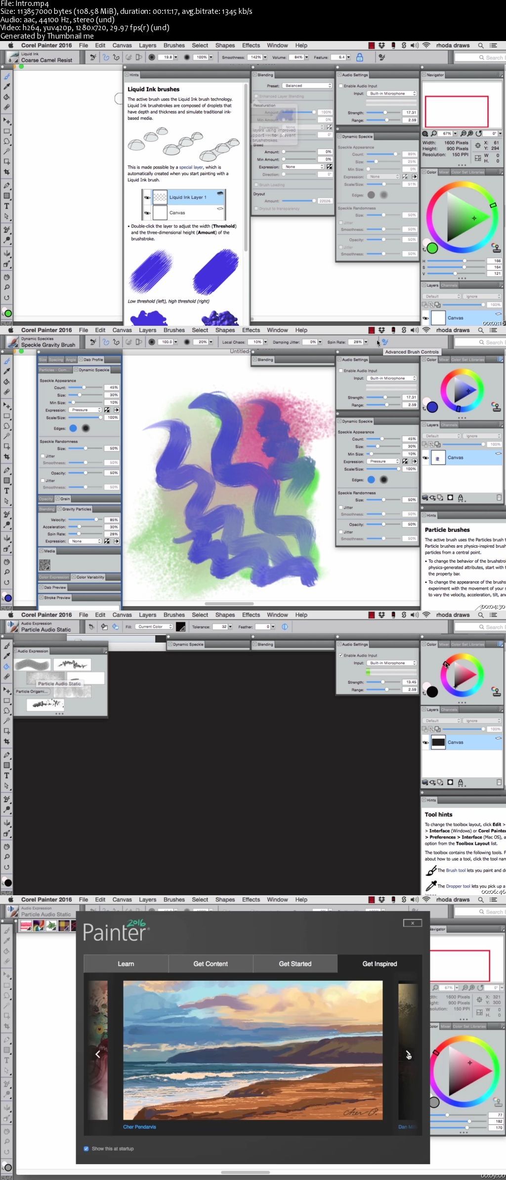 Getting Started with Corel Painter 2016 Training Video