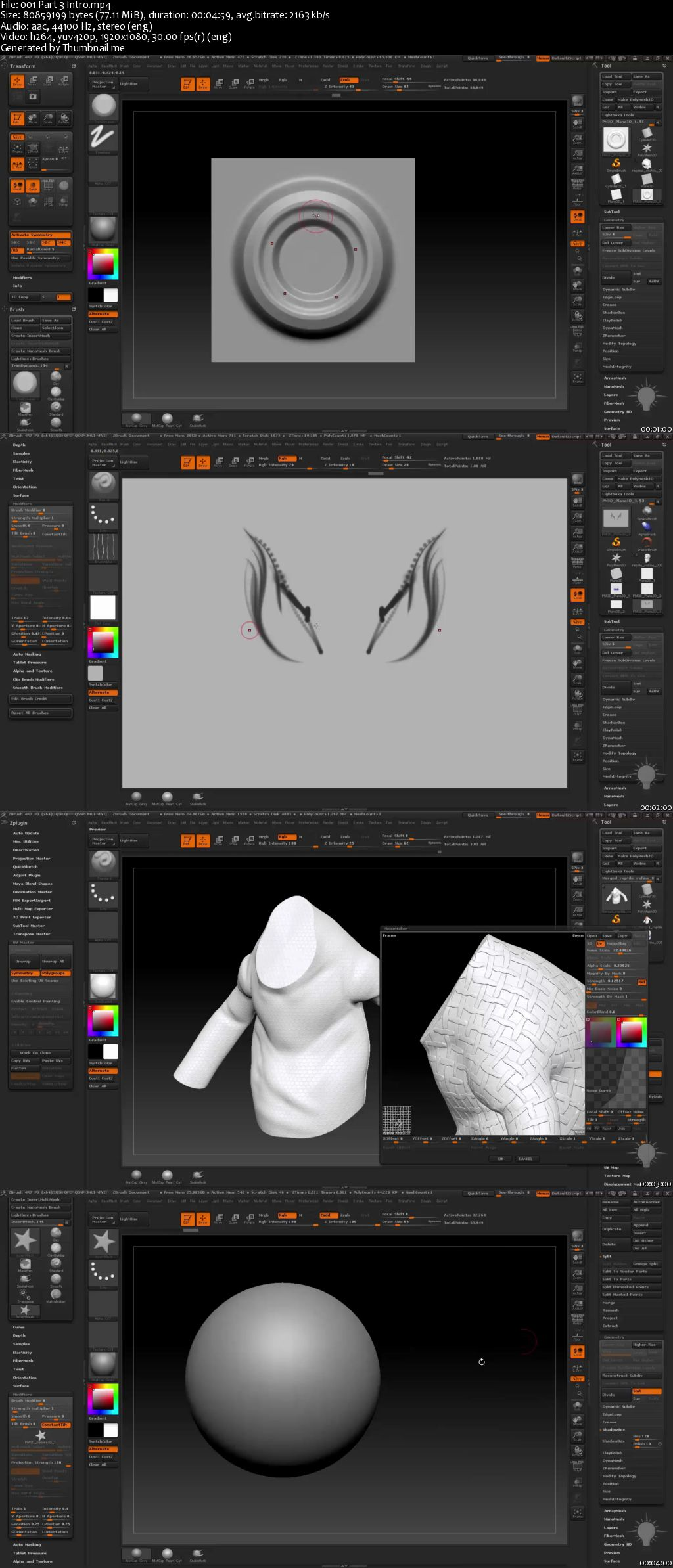 Intro To ZBrush Part 3 by Michael Pavlovich