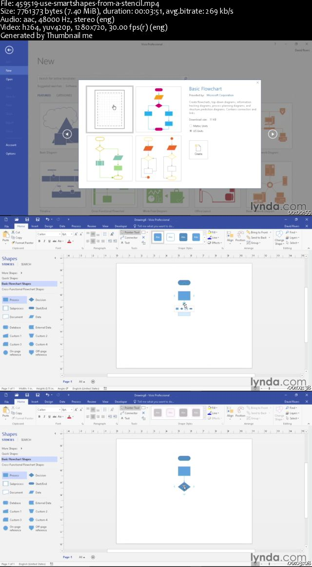 Visio 2016 Essential Training