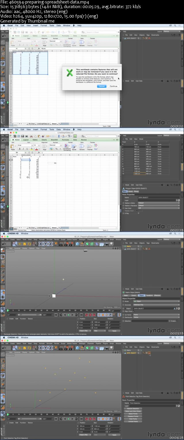 Animating Charts and Graphs in CINEMA 4D