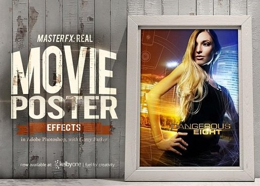 Master FX: Real Movie Poster Effects in Adobe Photoshop