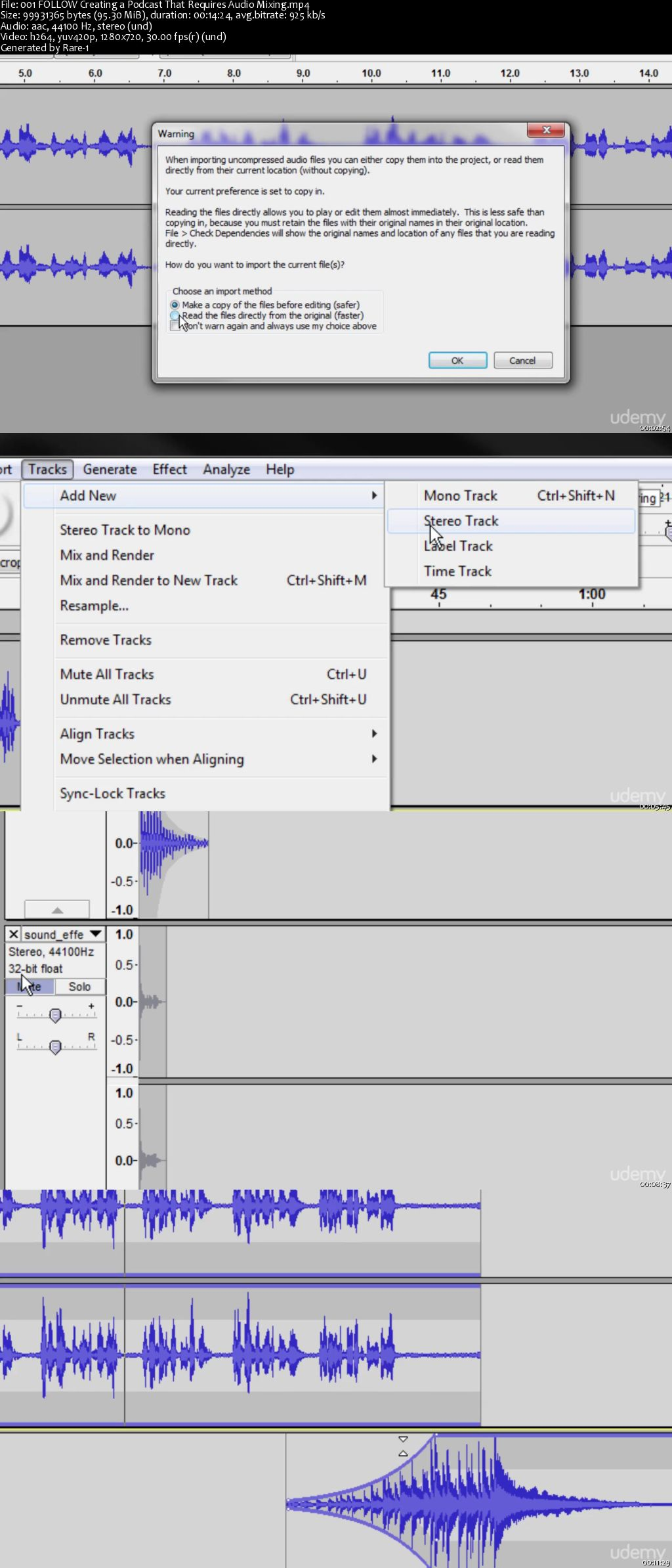 Podcast University: Learn to Create Podcasts with Audacity