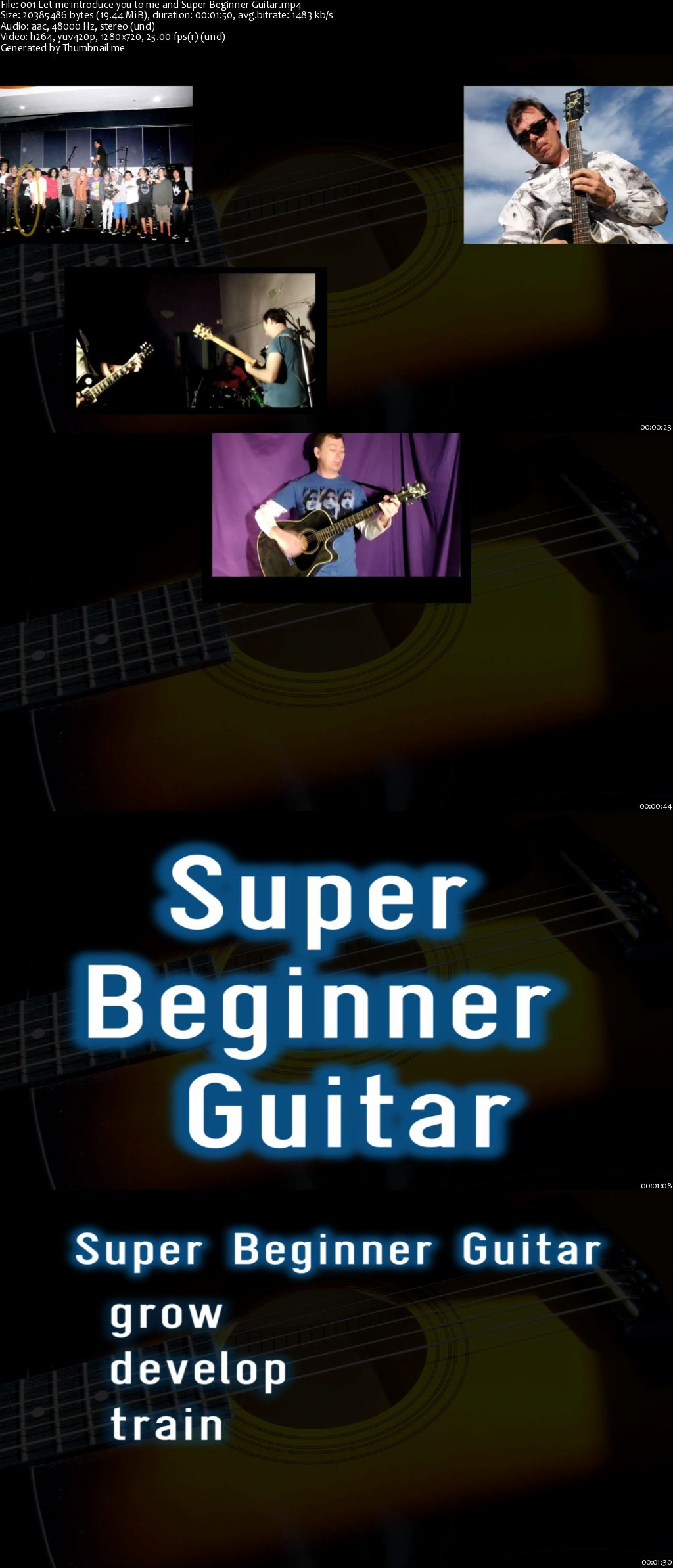 Super Beginner Guitar - start right, start awesome