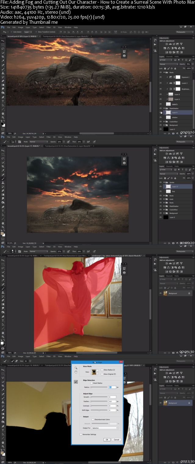 Tutsplus - How to Create a Surreal Scene With Photo Manipulation
