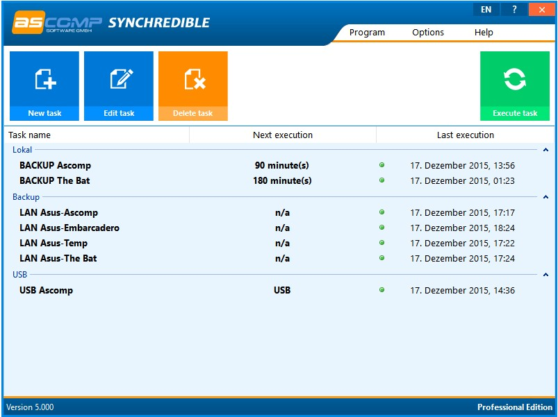 Synchredible Professional Edition 5.001 Retail