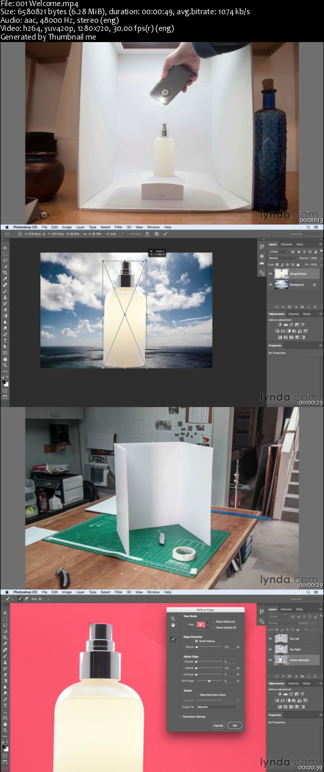 Photoshop Compositing Project: Product Photography