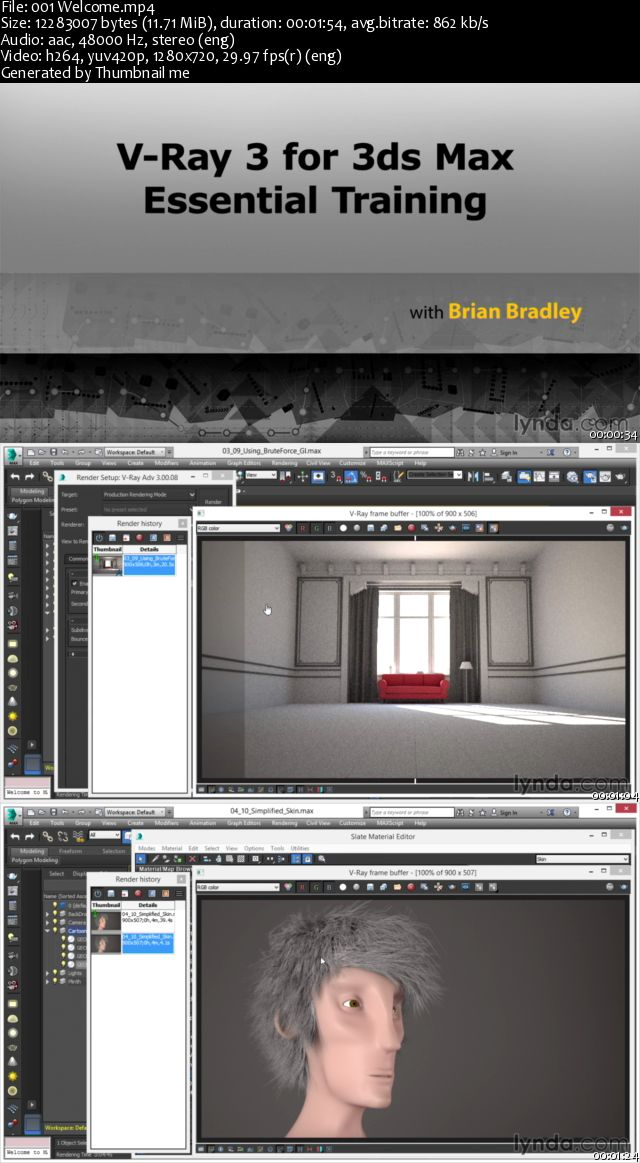 V-Ray 3.0 for 3ds Max Essential Training