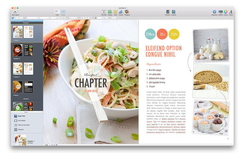 Suite for iBooks Author 2.0 Mac OS X