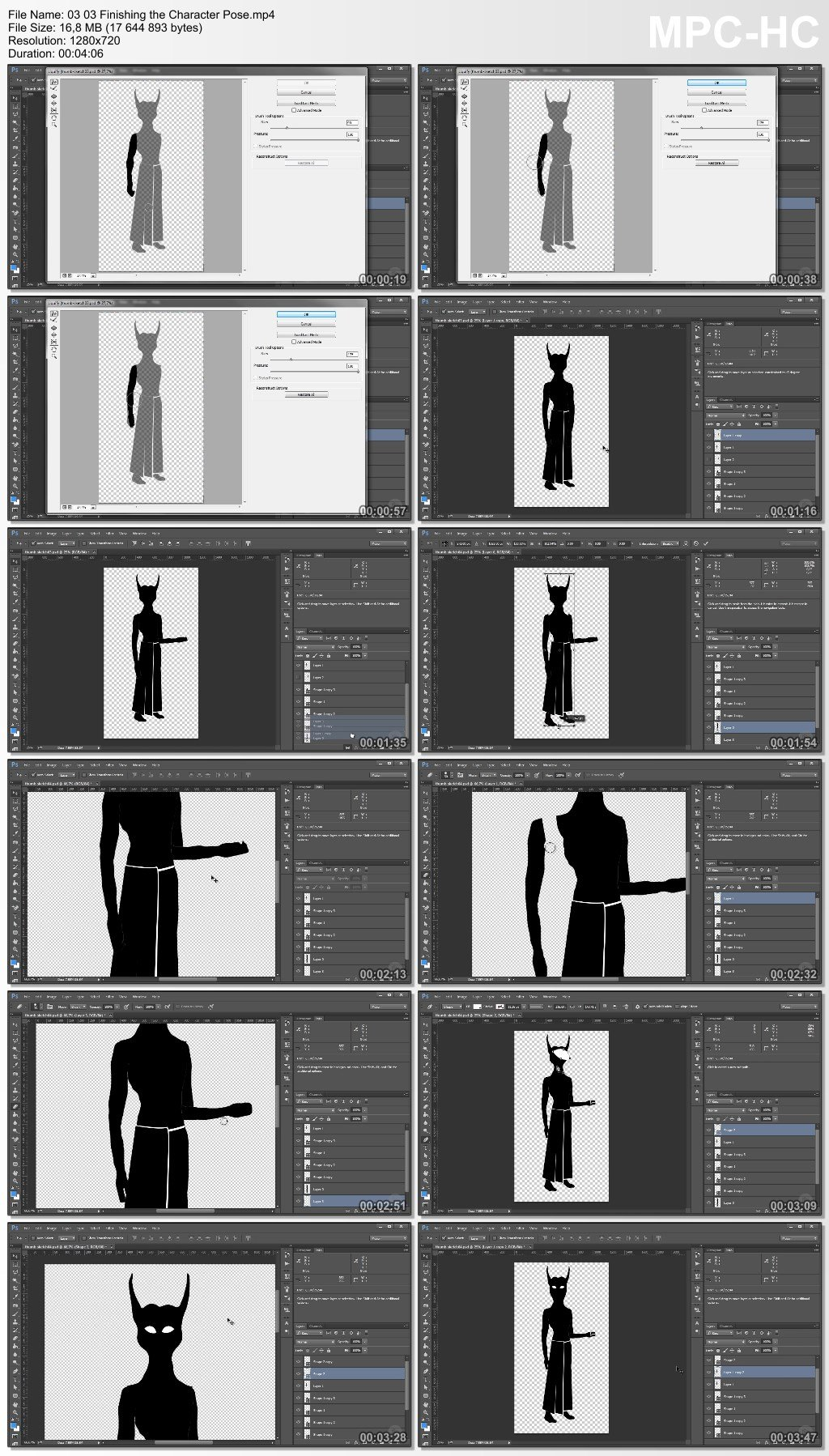 Photo Manipulation Techniques: Character Design Process