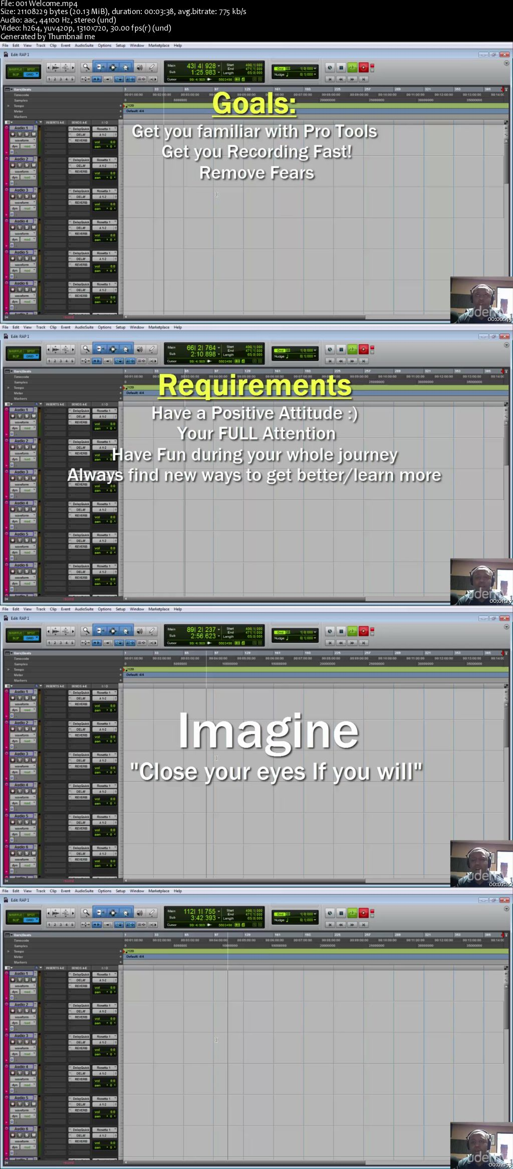 Record A Song In Pro Tools-The Easy Way