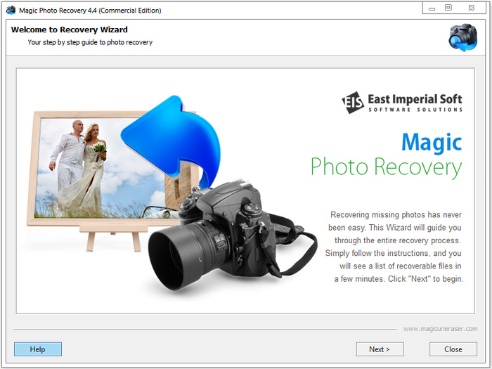 East Imperial Soft Magic Photo Recovery 4.4 + Portable