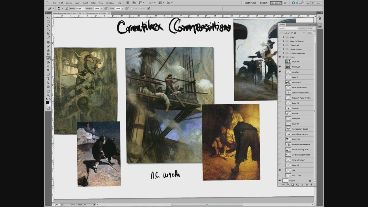 SVS Learn - Creative Composition in Photoshop (2015)