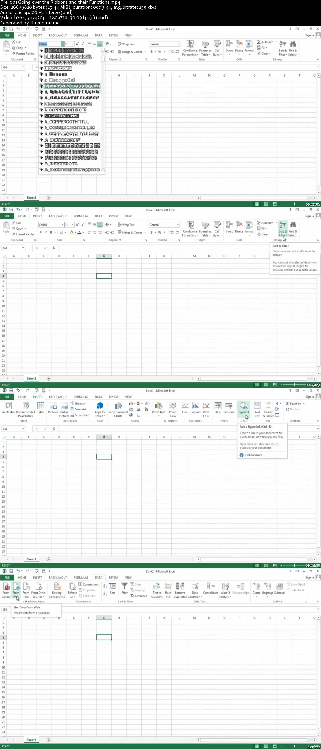 Excel 2013: Excel 2013 Beginner - Intermediate