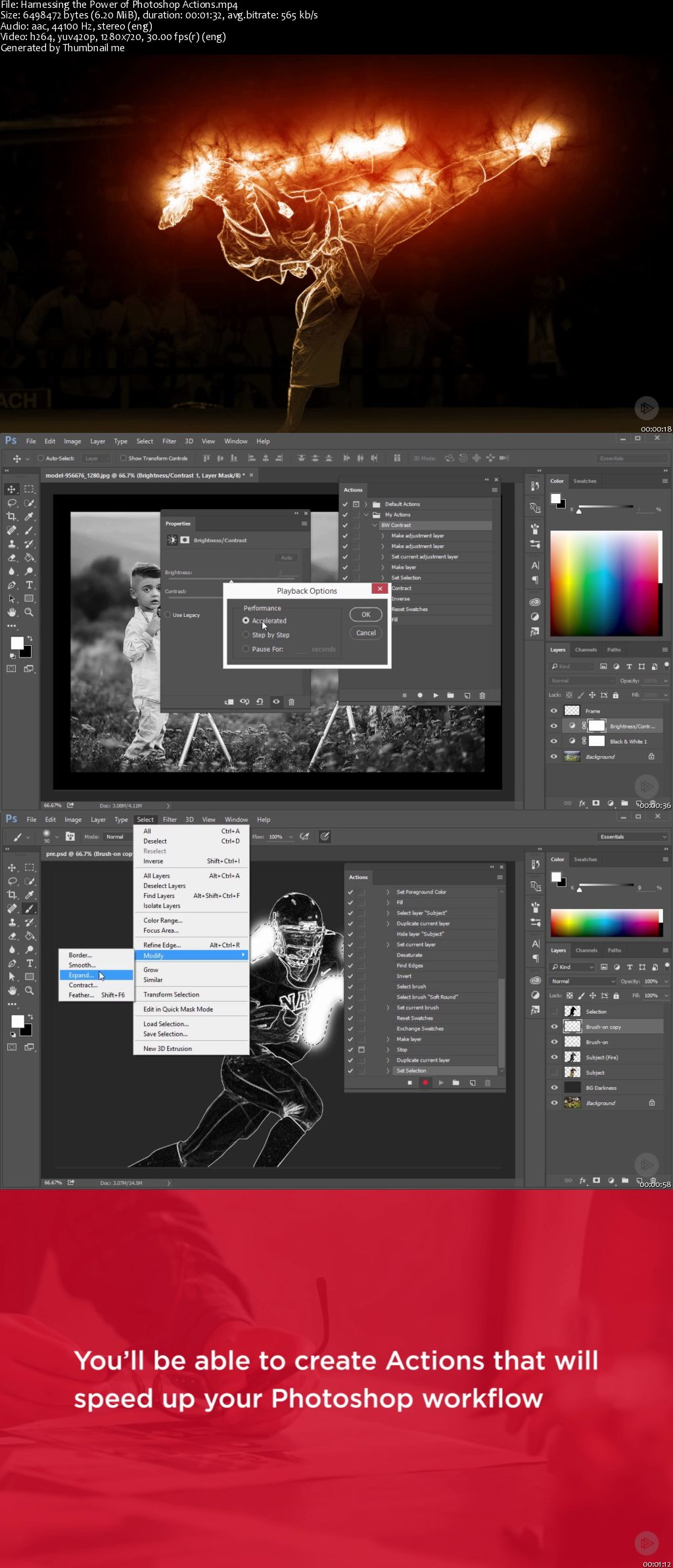 Harnessing the Power of Photoshop Actions