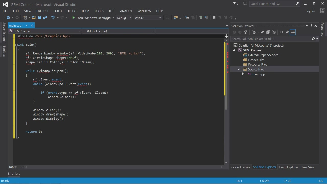 Udemy - Learn C++ Game Development
