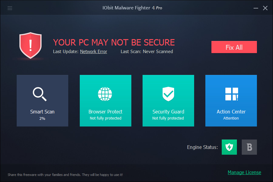 IObit Malware Fighter Pro 4.0.3.18 Multilingual
