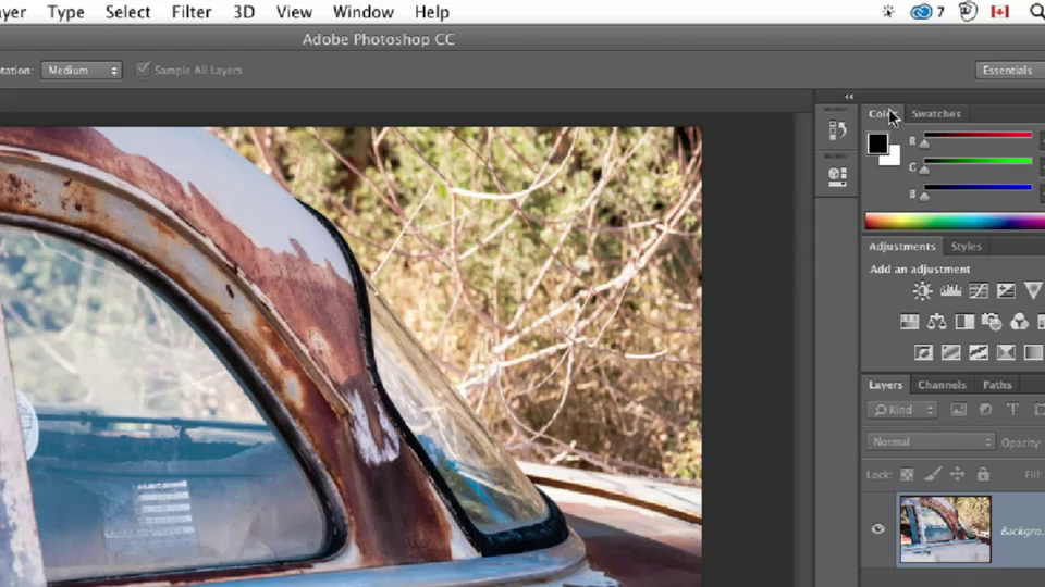 CreativeLive - Photoshop Essentials with Dave Cross